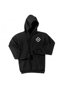 TMI Gildan Hooded Sweatshirt Black