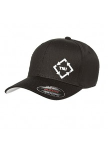 TMI Flexfit Structured Hat Black