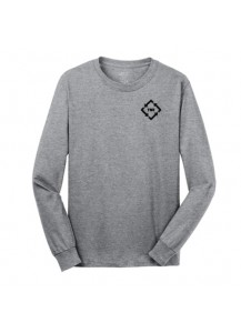 TMI Long Sleeve Shirt Heather Grey
